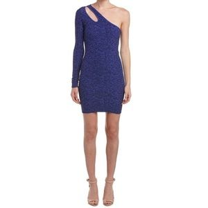 BCBGeneration One Shoulder Bodycon Dress